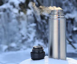 Как почистить термос от непрятного запаха и налета