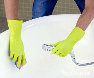 Чем почистить ванну, чтобы она снова стала белоснежной