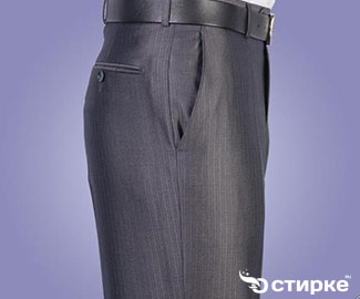 Как правильно постирать брюки классического покроя