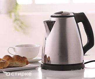 Чем очистить накипь из электрического чайника