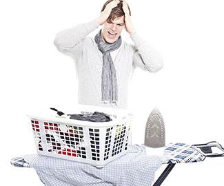 Учимся гладить мужские сорочки без единой складочки