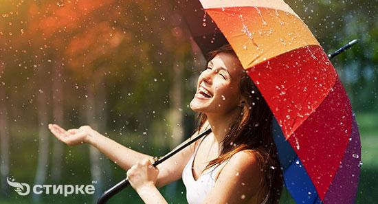 Уход за зонтом: как постирать, высушить и почистить от ржавчины
