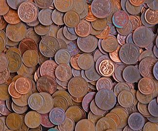 Как чистить бронзовые монеты