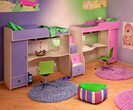Как украсить детскую комнату для мальчика и девочки